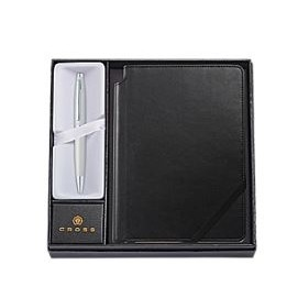 Cross Calais Collection Black Ballpoint Pen & Journal Gift Set